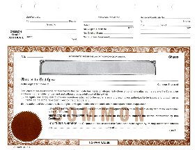 Ontario shares for Free share certificate template bc